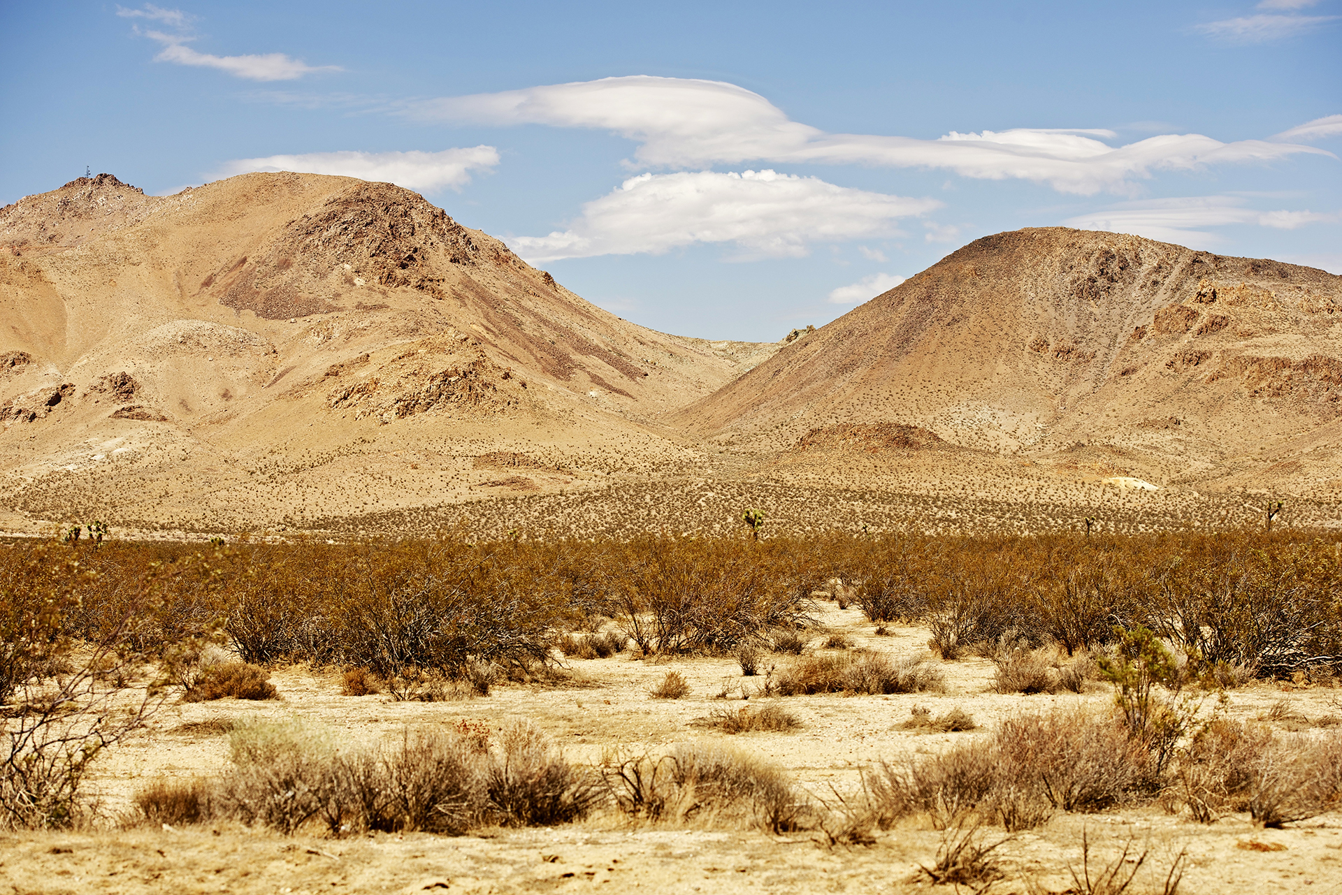 Where Can I park my RV in the Mojave Desert?